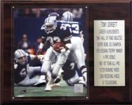 """Dallas Cowboys Tony Dorsett 12"""" x 15"""" Career Stat Plaque"""