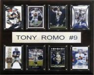 """Dallas Cowboys Tony Romo 12"""" x 15"""" Card Plaque"""