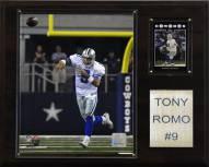 """Dallas Cowboys Tony Romo 12 x 15"""" Player Plaque"""