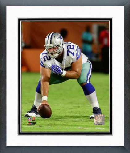 Dallas Cowboys Travis Frederick Action Framed Photo