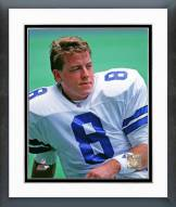 Dallas Cowboys Troy Aikman Action Framed Photo