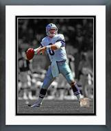 Dallas Cowboys Troy Aikman Spotlight Action Framed Photo