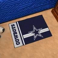 Dallas Cowboys Uniform Inspired Starter Rug