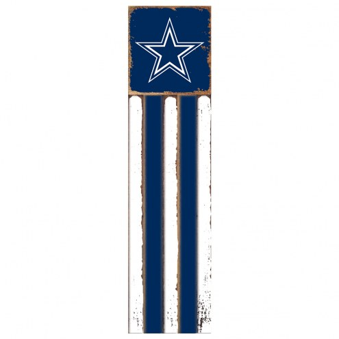 Dallas Cowboys Vertical Flag Wall Sign