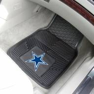 Dallas Cowboys Vinyl 2-Piece Car Floor Mats