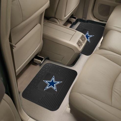 Dallas Cowboys Vinyl 2-Piece Rear Floor Mats