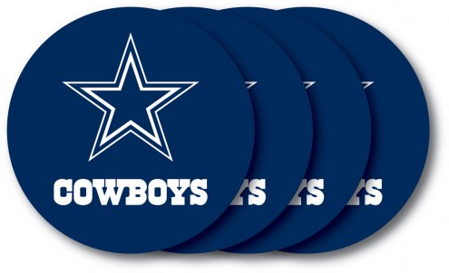 Dallas Cowboys Vinyl Coaster Set