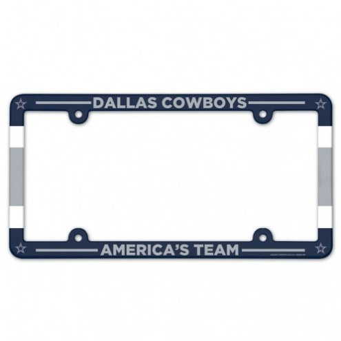Dallas Cowboys License Plate Frame
