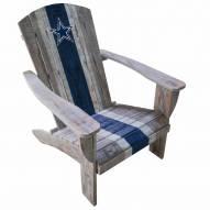Dallas Cowboys Wooden Adirondack Chair