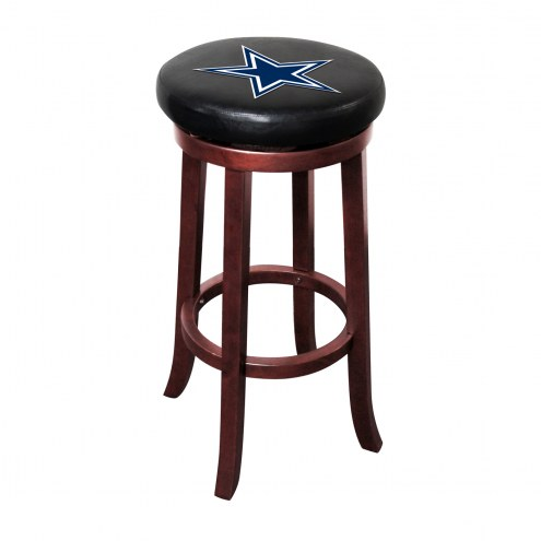 Dallas Cowboys Wooden Bar Stool