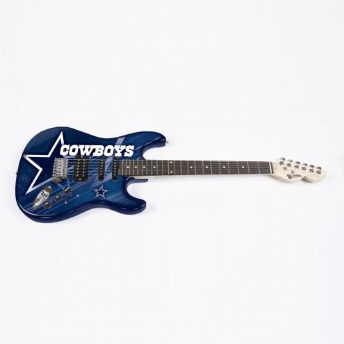 Dallas Cowboys Woodrow Northender Electric Guitar