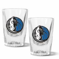 Dallas Mavericks 2 oz. Prism Shot Glass Set