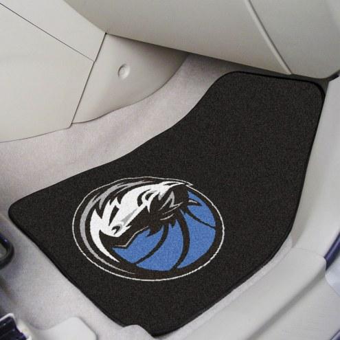 Dallas Mavericks 2-Piece Carpet Car Mats