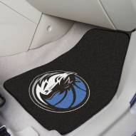 Dallas Mavericks 2-Piece Carpet Car Mats