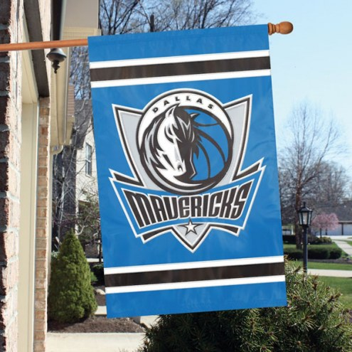 Dallas Mavericks Appliqué 2-Sided Banner Flag
