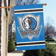 Dallas Mavericks Applique 2-Sided Banner Flag