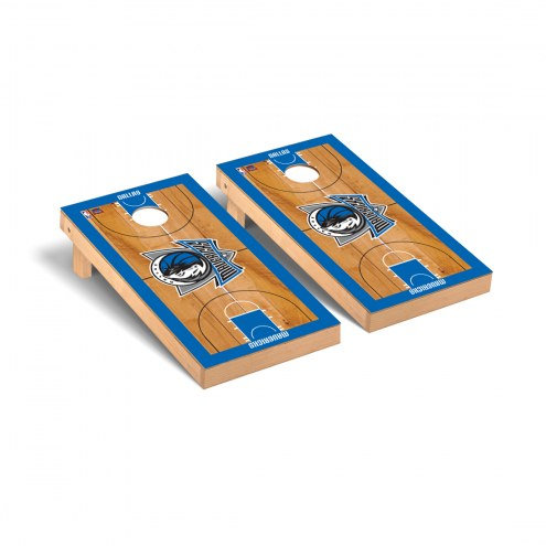 Dallas Mavericks Basketball Court Cornhole Game Set