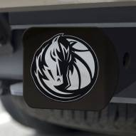 Dallas Mavericks Black Matte Hitch Cover