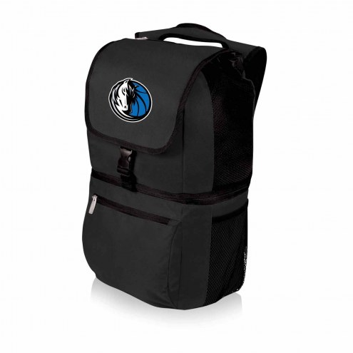 Dallas Mavericks Black Zuma Cooler Backpack