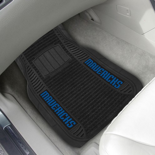 Dallas Mavericks Deluxe Car Floor Mat Set