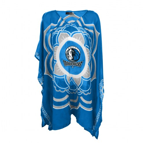 Dallas Mavericks Flower Caftan