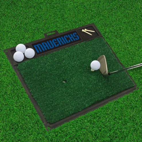 Dallas Mavericks Golf Hitting Mat