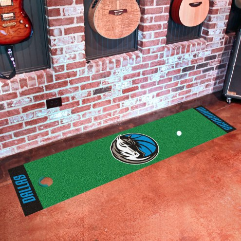 Dallas Mavericks Golf Putting Green Mat
