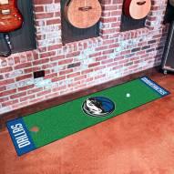 Dallas Mavericks Golf Putting Green Mat