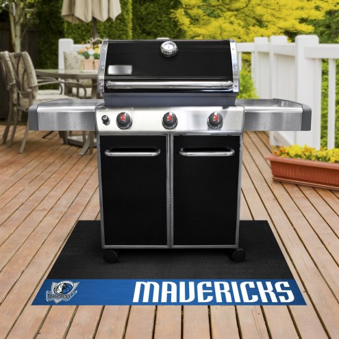 Dallas Mavericks Grill Mat