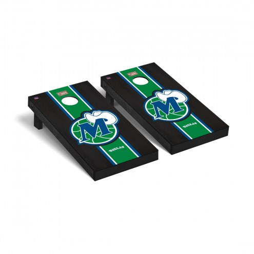 Dallas Mavericks Hardwood Classic Onyx Stained Cornhole Game Set