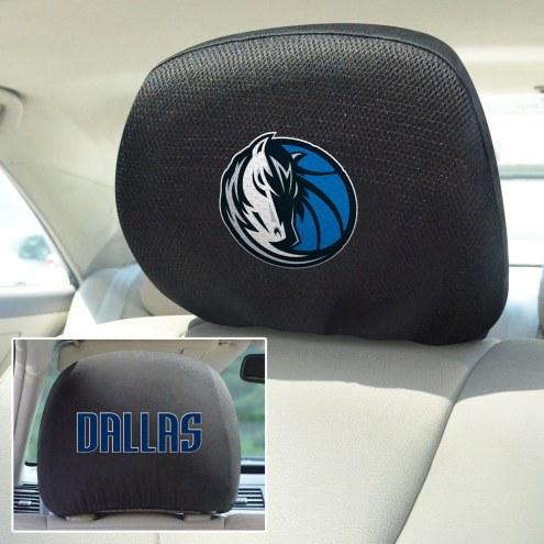 Dallas Mavericks Headrest Covers