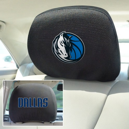 Dallas Mavericks Headrest Covers