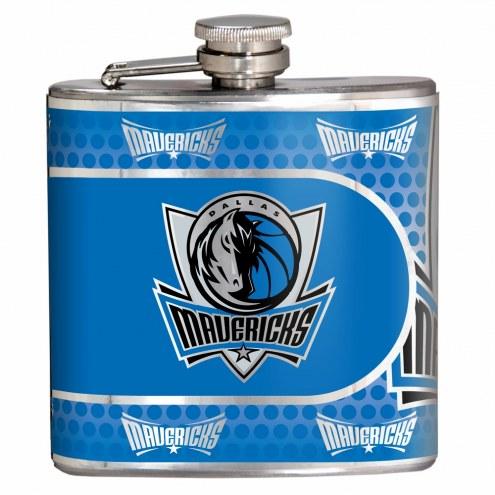 Dallas Mavericks Hi-Def Stainless Steel Flask