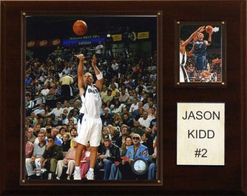 "Dallas Mavericks Jason Kidd 12"" x 15"" Player Plaque"