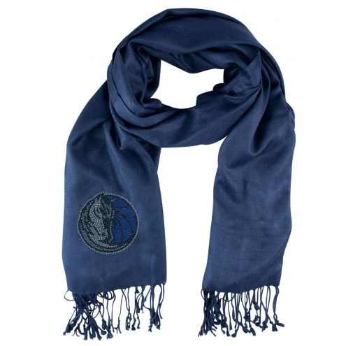 Dallas Mavericks Navy Pashi Fan Scarf