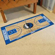 Dallas Mavericks NBA Court Large Runner