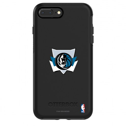Dallas Mavericks OtterBox iPhone 8/7 Symmetry Black Case