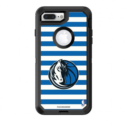 Dallas Mavericks OtterBox iPhone 8 Plus/7 Plus Defender Stripes Case