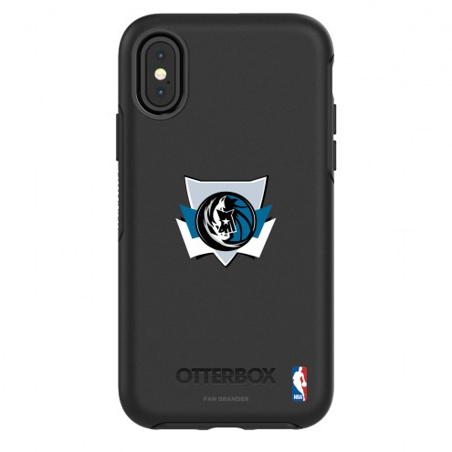 Dallas Mavericks OtterBox iPhone X/Xs Symmetry Black Case