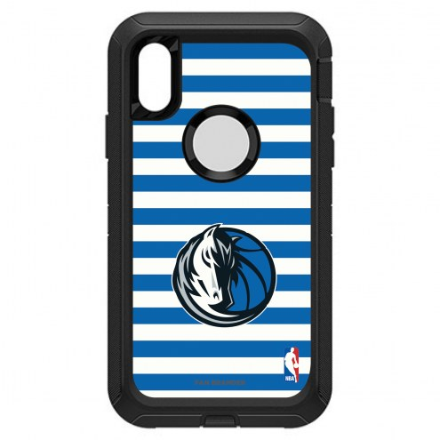 Dallas Mavericks OtterBox iPhone XR Defender Stripes Case