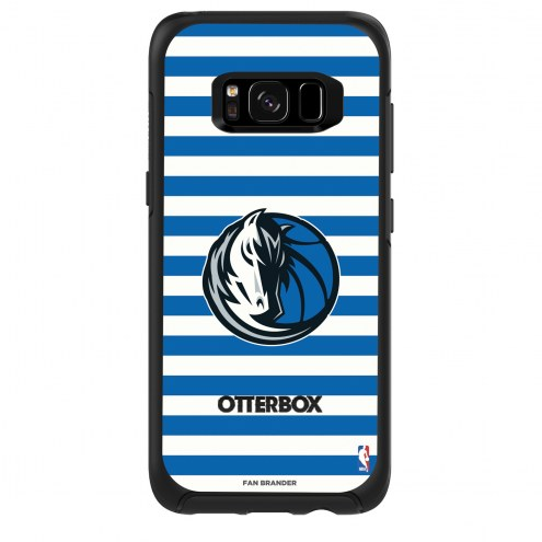 Dallas Mavericks OtterBox Samsung Galaxy S8 Symmetry Stripes Case