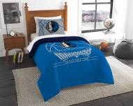 Dallas Mavericks Reverse Slam Twin Comforter Set