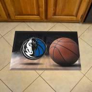 Dallas Mavericks Scraper Door Mat