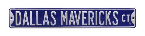 Dallas Mavericks Street Sign
