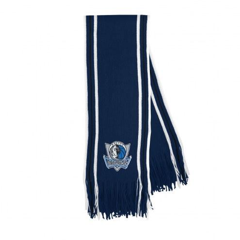 Dallas Mavericks Stripe Fringe Scarf
