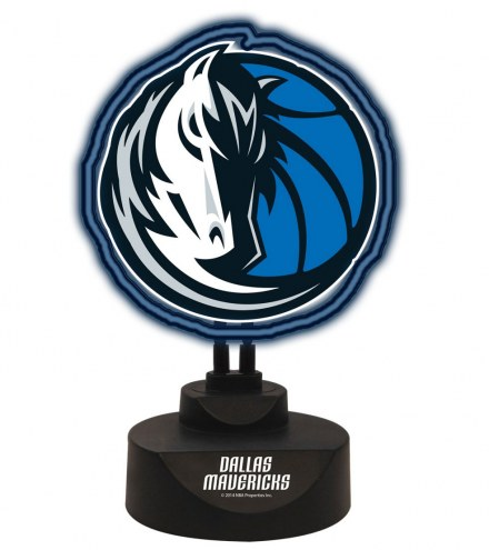 Dallas Mavericks Team Logo Neon Light
