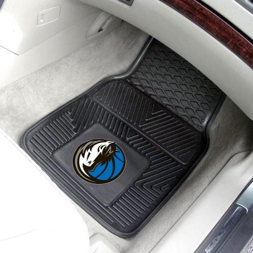 Dallas Mavericks Vinyl 2-Piece Car Floor Mats