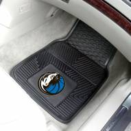 Dallas Mavericks Vinyl 2-Piece Car Floor Mats