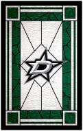 """Dallas Stars 11"""" x 19"""" Stained Glass Sign"""