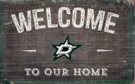"""Dallas Stars 11"""" x 19"""" Welcome to Our Home Sign"""